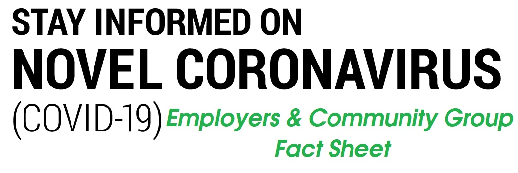 employers and community groups fact sheet