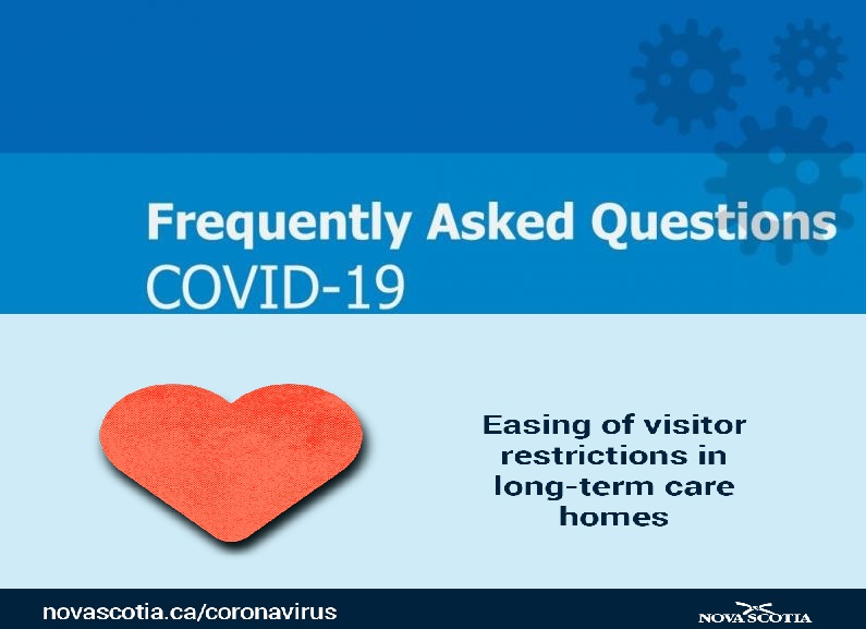 faq easing of visitor restrictions long term care homes