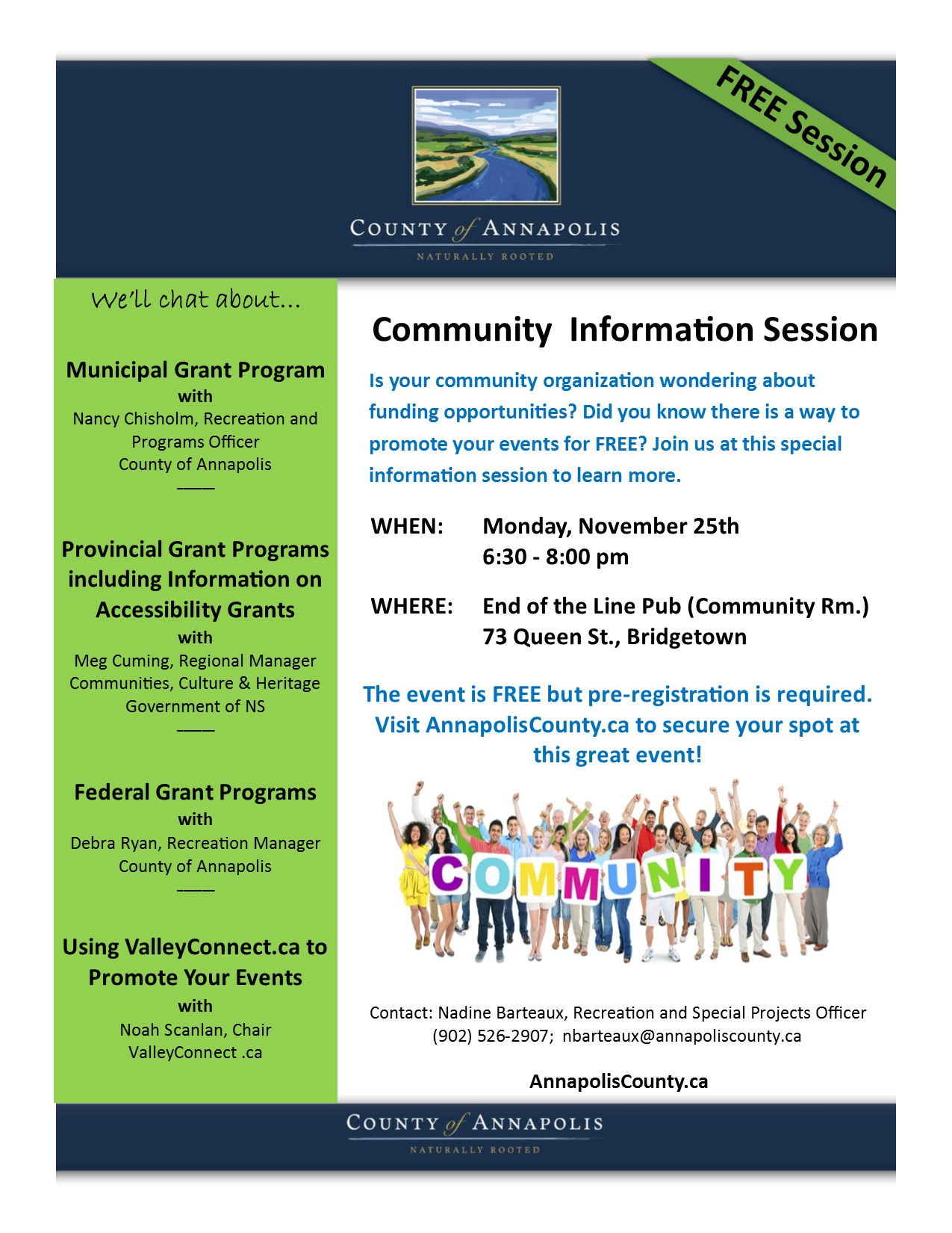2019 Community Information Session