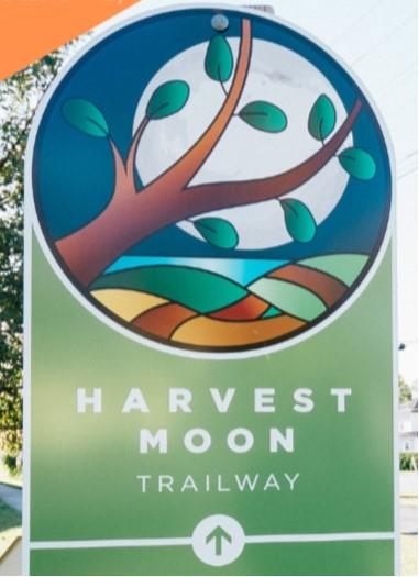 Harvest Moon Trail sign cropped
